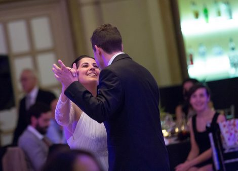 Baile en boda en Hotel NH Collection A Coruña Finisterre